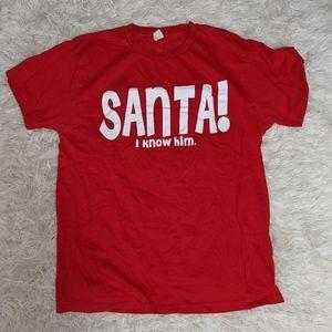 """""""Santa! I Know Him!"""" Elf the Musical Shirt"""